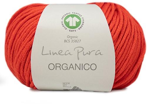 Lana Grossa Organico Uni 125 Neon Red