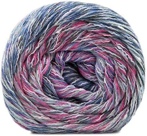 Lana Grossa Gomitolo Summer Tweed 007 Sering / Royal / Marine / Bright Pink / Grey / Anthracite / Cyclaam
