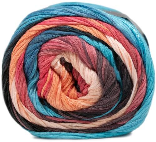 Lana Grossa Gomitolo Doppio 205 Soft Pink / Salmon / Pink / Antique Violett / Night Blue / Turquoise / Dark Jeans