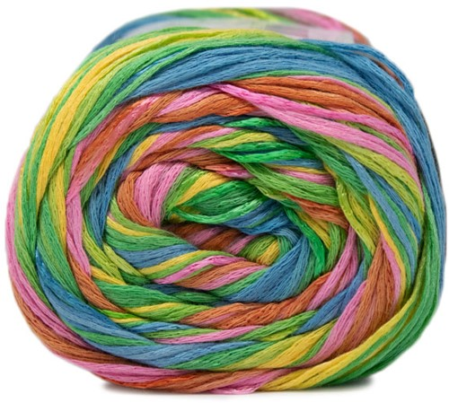 Lana Grossa Gomitolo Doppio 251 Yellow / Green / Salmon / Rose / Pink / Jade / Blue / Turquoise