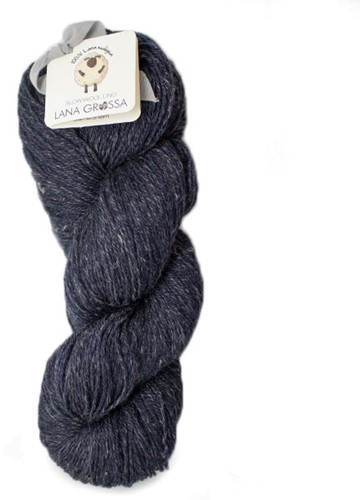 Lana Grossa Slow Wool Lino 013 Dark Blue