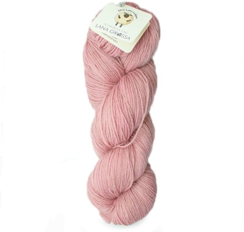 Lana Grossa Slow Wool Lino 016 Rose