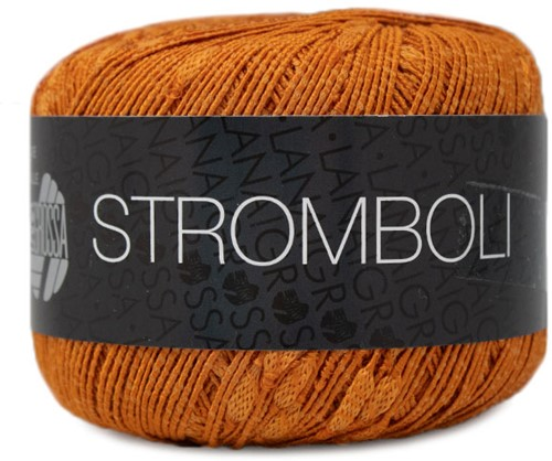 Lana Grossa Stromboli 111 Orange Brown