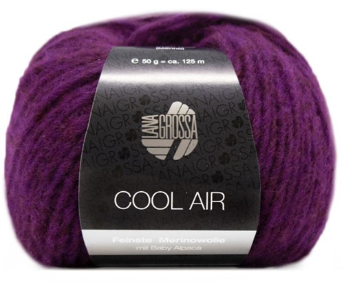 Lana Grossa Cool Air 8 Red-Violet