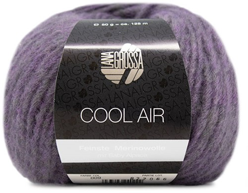 Lana Grossa Cool Air 9 Plum-Blue