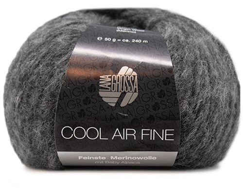 Lana Grossa Cool Air Fine 15 Dark Grey