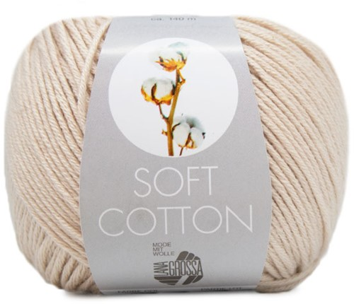 Lana Grossa Soft Cotton 003 Grege