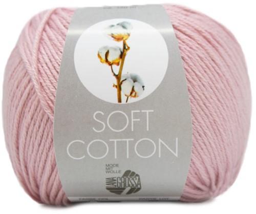 Lana Grossa Soft Cotton 006 Rose
