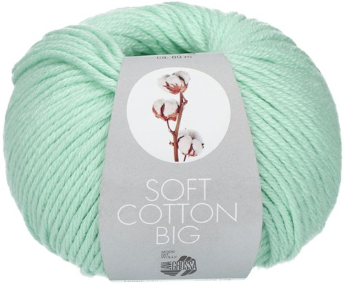 Lana Grossa Soft Cotton Big 15 Mint
