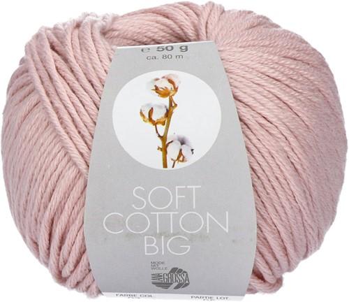 Lana Grossa Soft Cotton Big 3 Rose