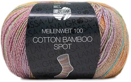 Lana Grossa Meilenweit 100 Cotton Bamboo Spot 2352
