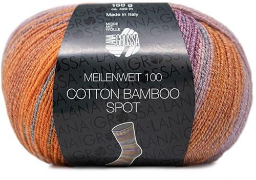 Lana Grossa Meilenweit 100 Cotton Bamboo Spot 2358