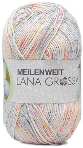 Lana Grossa Meilenweit 100 Solo Cotone Spray 3654
