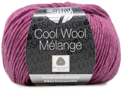 Lana Grossa Cool Wool Melange 151 Lilac Mottled
