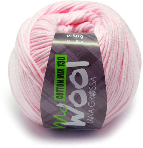 Lana Grossa Cotton Mix 130 131 Rose