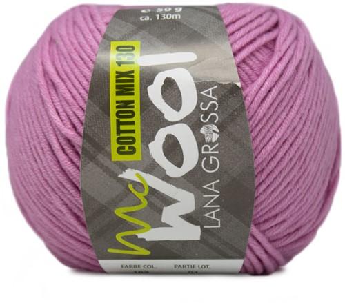 Lana Grossa Cotton Mix 130 163 Lilac