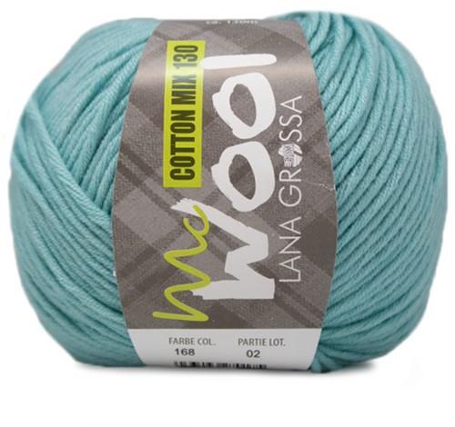 Lana Grossa Cotton Mix 130 168 Light Turquoise