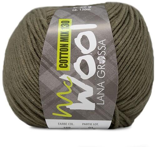 Lana Grossa Cotton Mix 130 169 Khaki