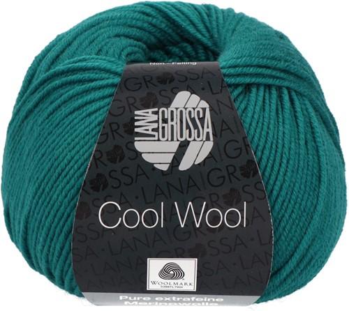 Lana Grossa Cool Wool 2015 Petrol Green