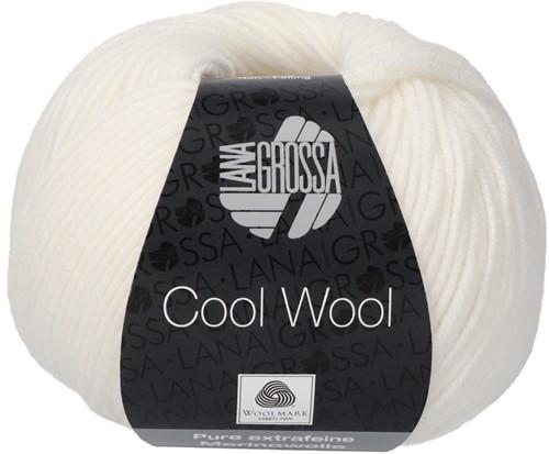 Lana Grossa Cool Wool 431 White
