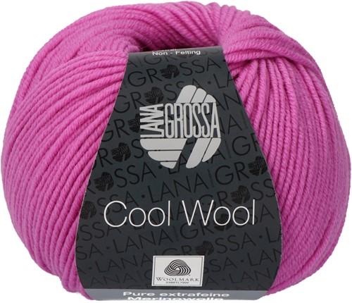 Lana Grossa Cool Wool 530 Fuchsia