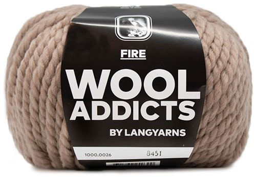 Lang Yarns Wooladdicts Fire 026 Beige