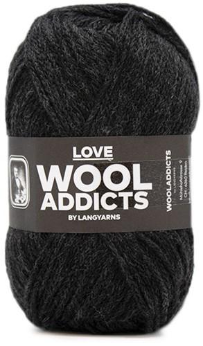 Lang Yarns Wooladdicts Love 070 Anthracite