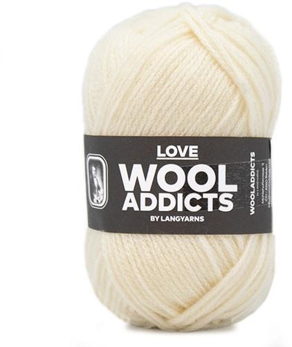 Lang Yarns Wooladdicts Love 094 Offwhite