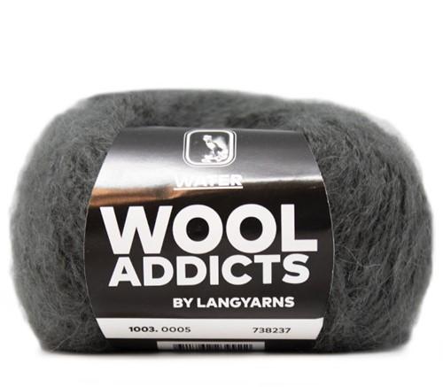 Lang Yarns Wooladdicts Water 005 Grey Mélange
