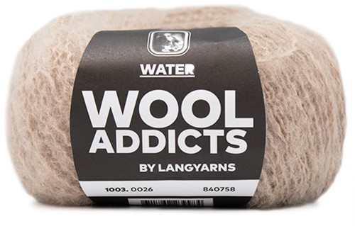 Lang Yarns Wooladdicts Water 026 Beige