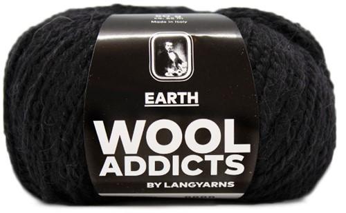 Lang Yarns Wooladdicts Earth 004 Black