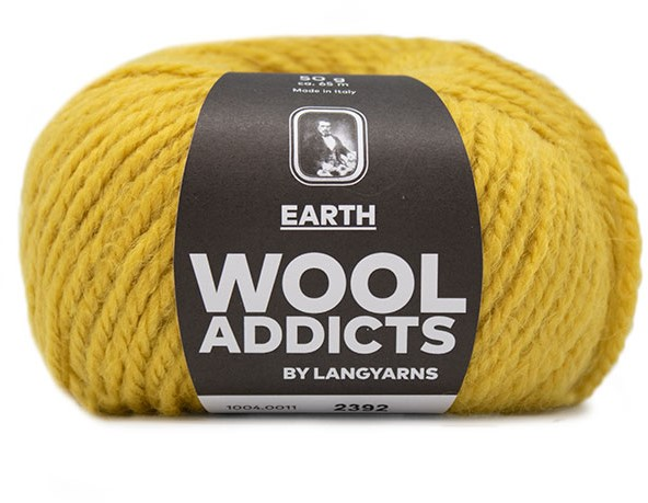 Lang Yarns Wooladdicts Earth 11 Nadelstärke 5,5-6 LL 65m//50g
