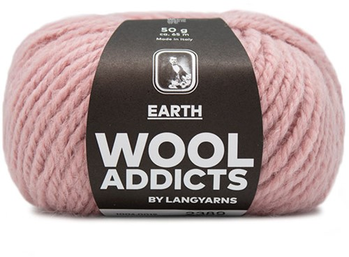 Lang Yarns Wooladdicts Earth 019 Rose