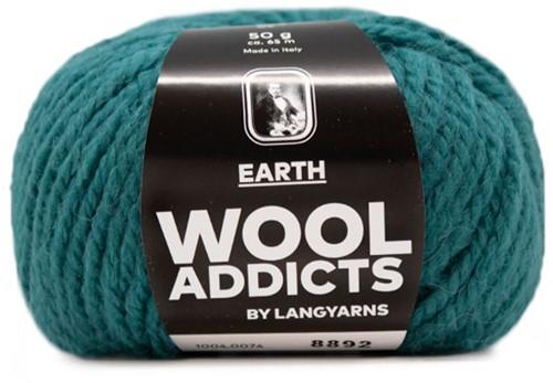 Lang Yarns Wooladdicts Earth 074 Atlantic