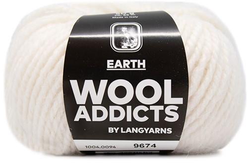 Lang Yarns Wooladdicts Earth 094 Offwhite