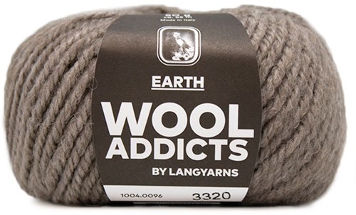 Lang Yarns Wooladdicts Earth 096 Stone