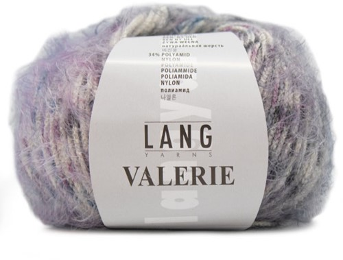 Lang Yarns Valerie 090 Lilac/Blue