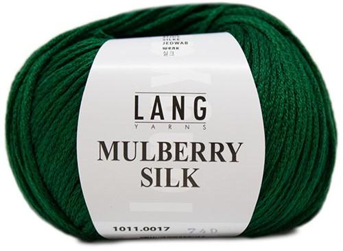 Lang Yarns Mulberry Silk 017 Green