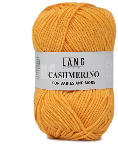 Lang Yarns Cashmerino For Babies and More 014 Yellow