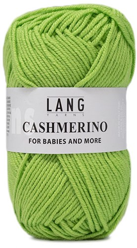 Lang Yarns Cashmerino For Babies and More 016 Light Green
