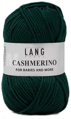 Lang Yarns Cashmerino For Babies and More 018 Dark Green