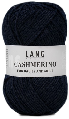 Lang Yarns Cashmerino For Babies and More 025 Navy