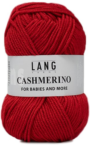 Lang Yarns Cashmerino For Babies and More 060 Red