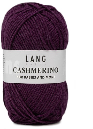 Lang Yarns Cashmerino For Babies and More 090 Violet