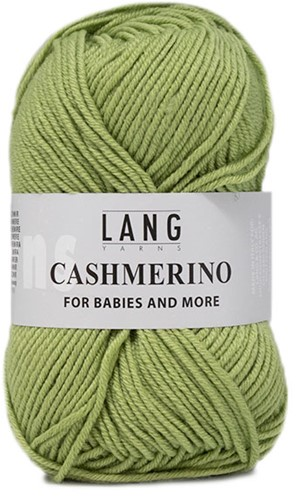 Lang Yarns Cashmerino For Babies and More 097 Light Olive