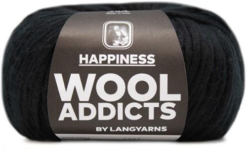 Lang Yarns Wooladdicts Happiness 004 Black
