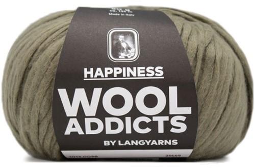 Lang Yarns Wooladdicts Happiness 098 Olive