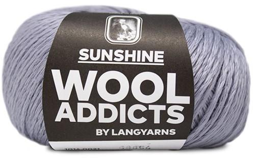 Lang Yarns Wooladdicts Sunshine 021 Light Blue