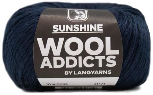 Lang Yarns Wooladdicts Sunshine 035 Marine