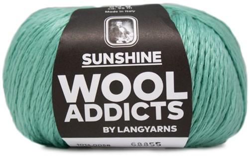 Lang Yarns Wooladdicts Sunshine 058 Mint